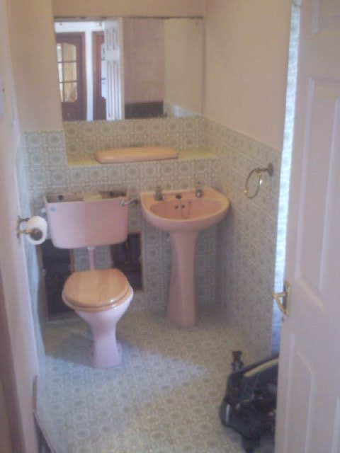 Bathroom before renovation