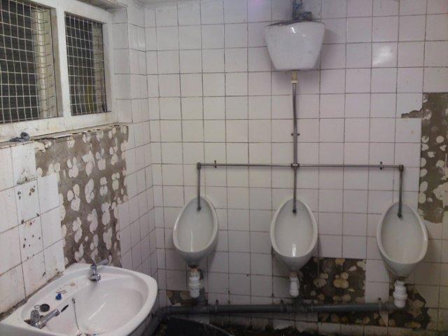 Toilet block - before refurb